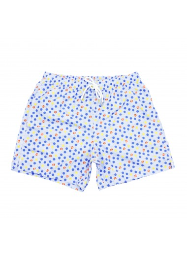 Swimshort with rackets, Fiorio