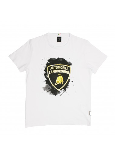 T-shirt with shield, Lamborghini