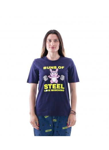 Funny print t-shirt, Moschino Love