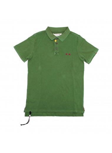 Forest green polo, Project E