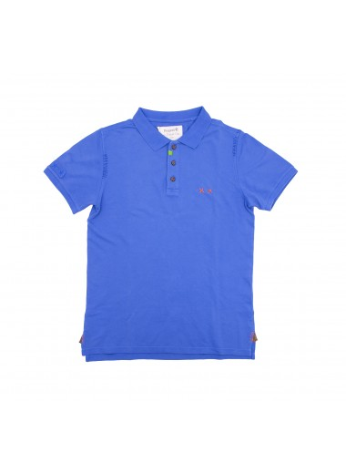 Cobalt blue polo, Project E