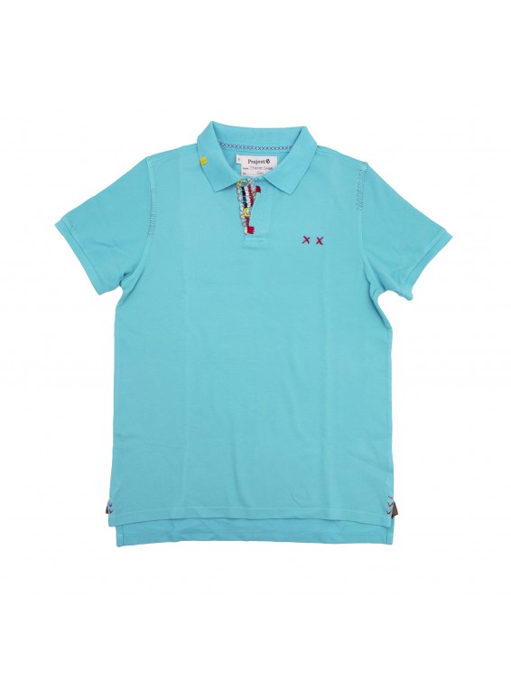 Turquoise polo, Project E