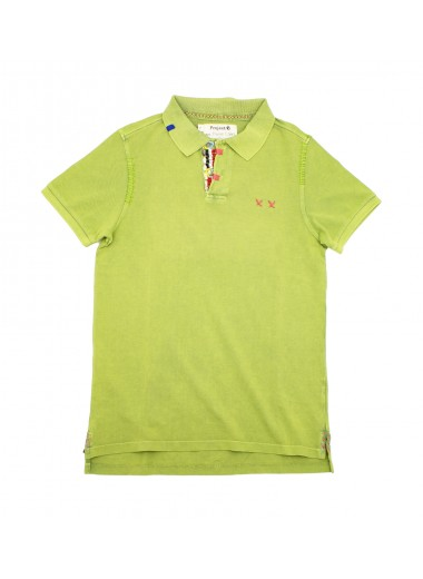 Pistachio green polo, Project E