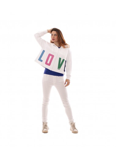 """LOVE"" sweatshirt, Moschino Love"