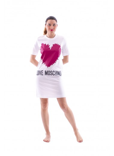 T-dress with heart, Moschino Love