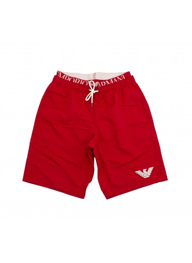 Long, red boxer, Emporio Armani