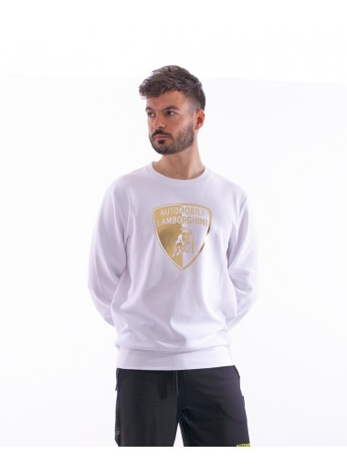 Halved shield sweatshirt, Lamborghini