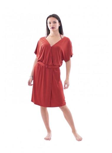 Clay red dress, Emporio Armani