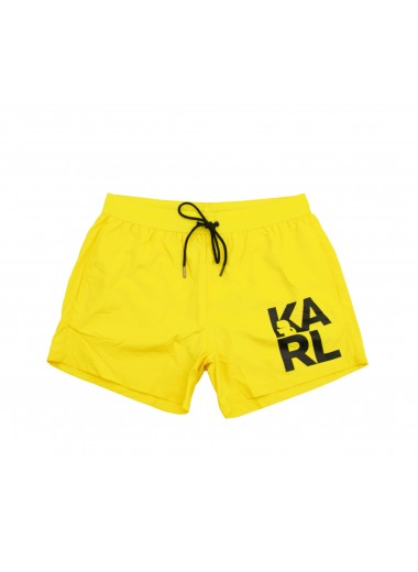 Yellow trunk, Karl Lagerfeld