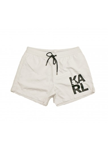 White boxer, Karl Lagerfeld