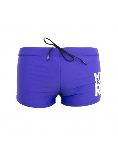 Cobalt blue trunk, Karl Lagerfeld