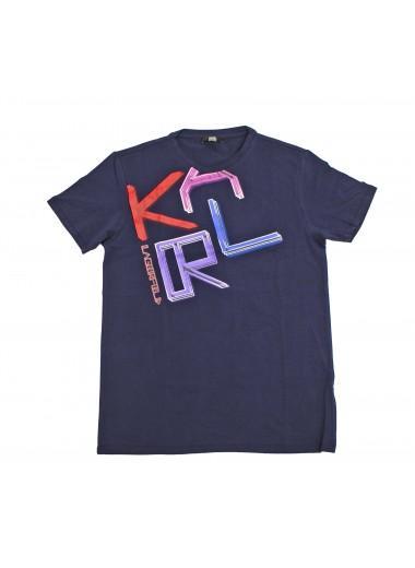 Blue t-shirt, Karl Lagerfeld